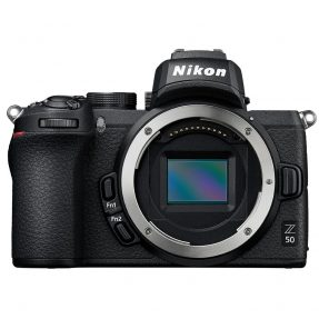 Nikon Z50 body zwart + Nikkor Z DX 16-50mm F/3.5-6.3 VR