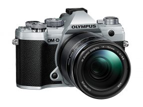 Olympus OM-D E-M5 Mark III zilver + 14-150mm Mark II zwart