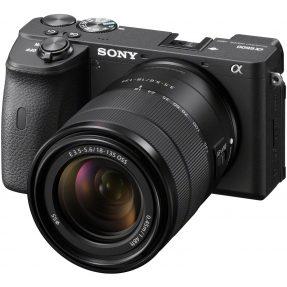 Sony A6600 body zwart + 18-135MM F/3.5-5.6 OSS