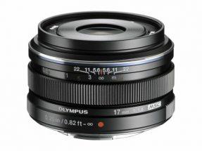 Olympus 17mm F/1.8 zwart M.Zuiko Digital